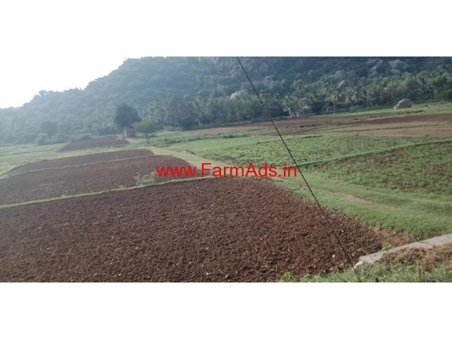 1 acre 10 kunte farm land for sale at hunshalli village, ramanagar