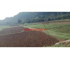 1 acre 10 kunte farm land for sale at hunshalli village, ramanagar