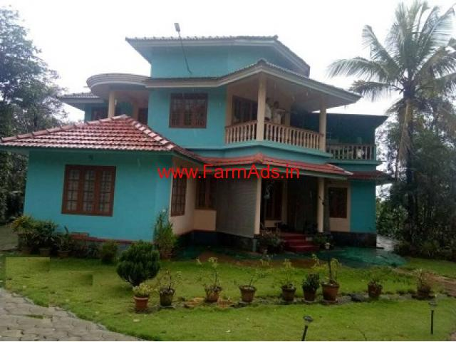 2.10 Acre Coffee estate with Farm house for sale near ...
