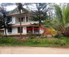 Farm house in 29 cents land for sale near Mananthavady