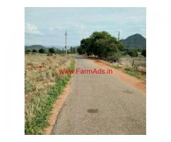 2.58 acres plain red soil agriculture land for sale 13kms from Kalahasti