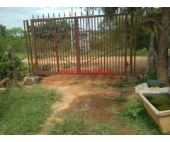 1.04 acres Farm house for sale near ibrahimpattanam, main road second bit