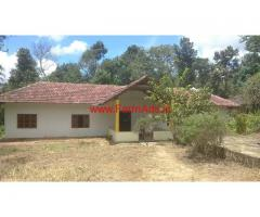 4.20 Acres coffee estate with Farm Bungalow for sale near Gendehalli