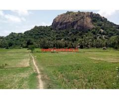 1 Acre 20 gunta hill view farm land is for sale at 4 kms from Ramnagar
