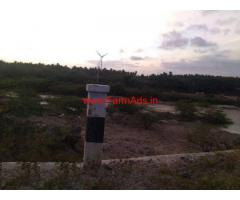 4 acres river touch agriculture land for sale at Periyapatti