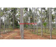 2.10 acres farm land sale 0.5 km from Dabaspet-Koratagere main road