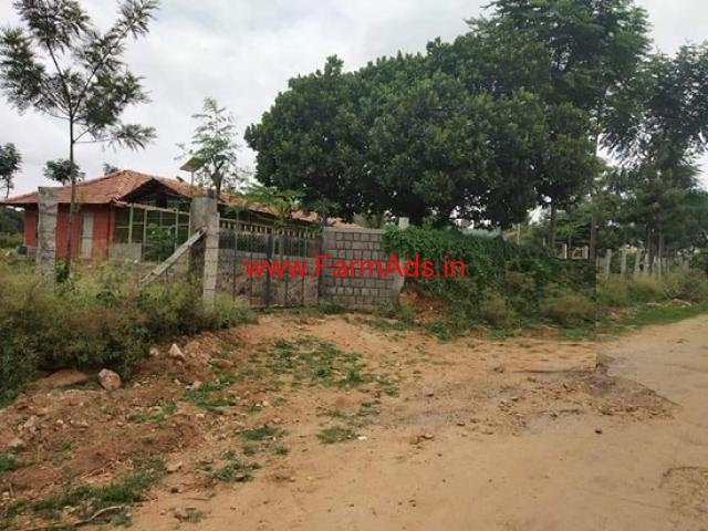 1.5 acre farm land for sale near Kanakapura on Sangama road