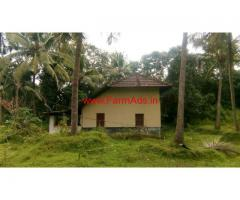 1 acre agriculture land with house for sale at Moodubelle