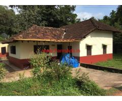 Farm house in 20 cents land for sale at Undaru, Innanje