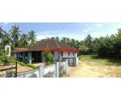 13 acres Agricultural property with house for sale Near Nenmara