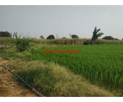 3.5 acres agriculture Land For sale, Near Midjil Road. Kalwakurthy HighWay