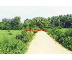 10 guntas farm land for sale, 6 KMS from Channapatna town