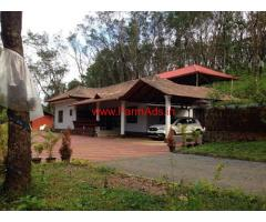 8 Acres Farm land with Farm house for sale Elimale,Sullia-Subramanya road