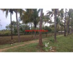 2.5 Acres Coconut Farm land with house for sale near Gopalpattynatham