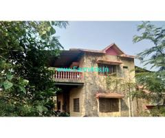 84 Gunta Agriculture land with house for sale 8km from Mumbai Pune Highway