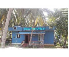 6 Cents Farm land with Farm house for sale  near Santhkatte