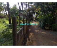 16 Cents Land with house for sale in Ramavarmapuram, Cheroor