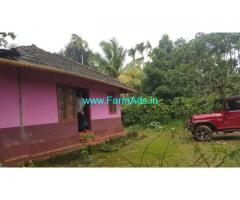 50 cents Farm land with house for sale near Mananthavady