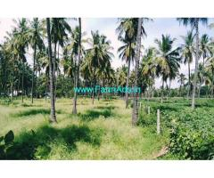 33 gunta farm land for sale at Channapatna, 5km from highway