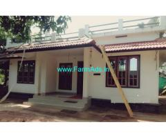 Low cost 4.50 Cent Farm land with Farm house for Sale in Kambalakkad