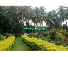 1.30 Acre Farm Land with Farm House for sale at Sriranganapatna