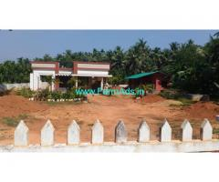Cow farm with Farm house in 33 cents farm land for sale near Mangalore