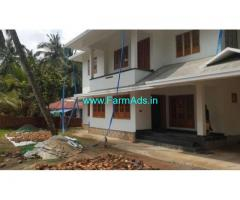 Farm house with 28 Cents land for sale in Koilery