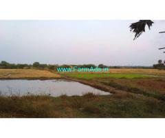 3.26 Acres Wet Land for sale near Madhurantham