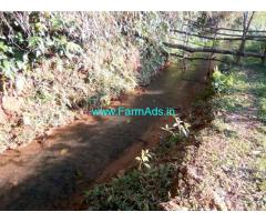 7.5 Acres Plain land forsale at Mudigere, 20 KMS from Town