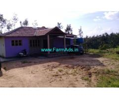 9 Acres Coffee Estate with Farm House for sale near Belur
