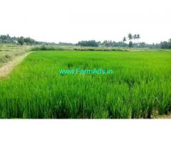 River attached 2.70 Acres of Farm land for sale near Shoolagiri