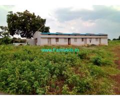 24 Acres Farm Land with Farm house for Sale near Dhannaram