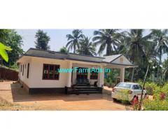 25 cent land with newly built house for sale at wayanad.