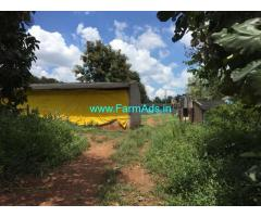 4 Acres Farm Land with Poultry Shed for Sale near Tarihal
