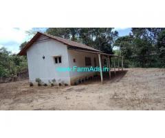 3 Acres Land with farm house for Sale near Sakleshpur