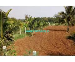 1 Acre coconut farm land for sale at 17 km from Mysore city center