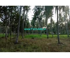 1.5 Acre Farm Land with 5 BHK Farm House for sale at Channapatna.