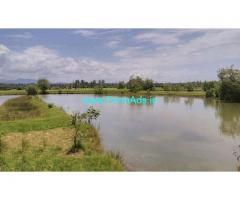 70 to 100 acre fish farm agricultural land for sale in kumta.