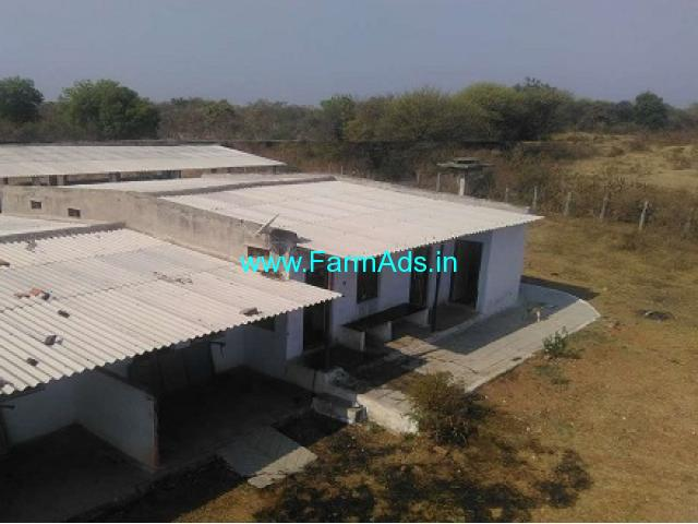 20 Acres Farm Land with GKA Dairy for sale near Siddipet,Karimnagar highway