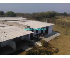 20 Acres Farm Land with GKA Dairy for sale near Siddipet,Karimnagar highway