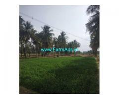 1 Acre Farm Land with Farm House for sale in Singarapettai-Thirupatur Road
