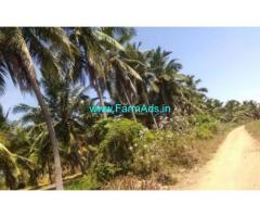 2.3 Acres Coconut Farm Land with Farm House for sale in Kudimangalam