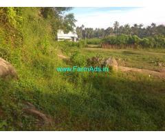Land for sale 12 km thrissur to uragam. pudukkad road kadalassery junction