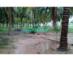 14.5 Acres Coconut Farm Land with Farm House for sale in Jallipatti