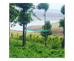 Harangi Backwater attached 20 Guntas Farmland Sale near Kushalnagar