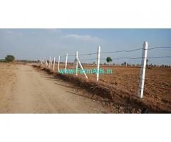 1 Acre 14 Gunta Agriculture Land for Sale near Bastheapur near NH
