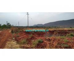 2 Acres Red Soil Farm Land for sale Chiknayakanahalli. Tumkur