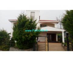 Fully Furnished Farm House for Sale in Ooty