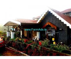 Fully Furnished Farm House for Sale in Kotagiri