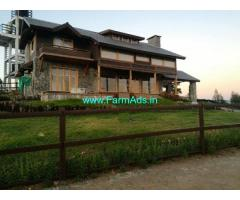 Fully Furnished Wood House for Sale in Nilgiris